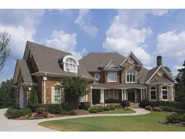 European House Plan With 4680 Square Feet And 4 Bedrooms(S) From