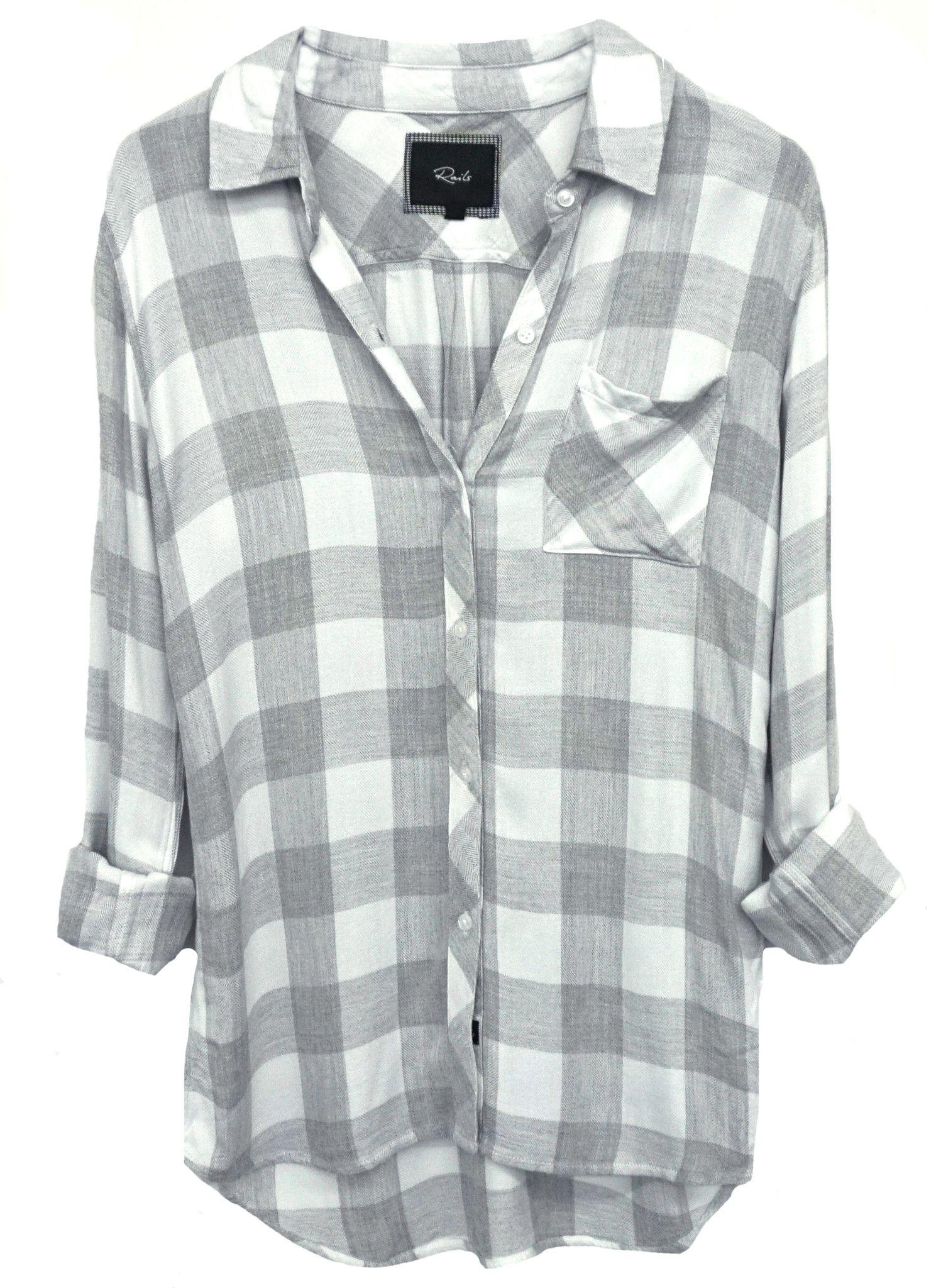 d71f7f3500e Hunter - White Grey Check – Rails