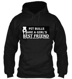 BULLY NATION Charity Studded Pit Bull Pull Over by BULLYNATION, $40.00
