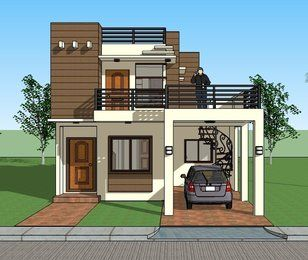 Picture home design plans dream house small also modern model houses designs in pinterest rh