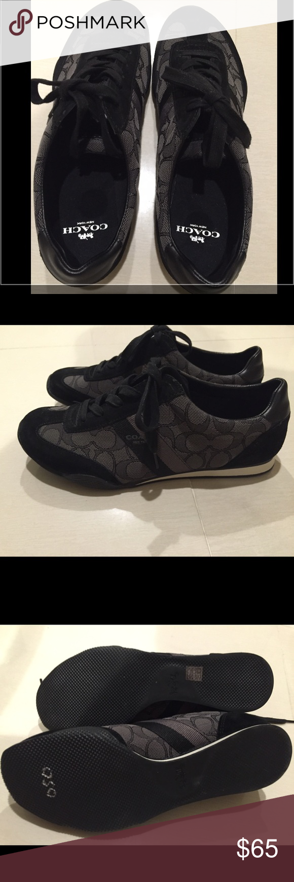 Coach Sneakers Size 8.5 Coach Sneakers. New without tags or box. Size 8.5. Coach Shoes Sneakers