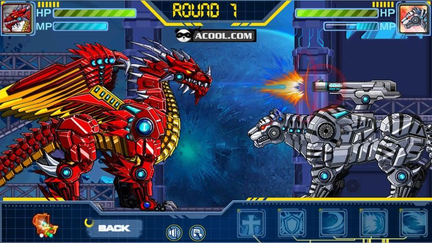 Toy Robot WarRobot Snow Tiger for Android APK Download