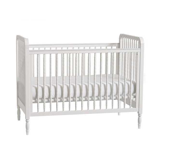 Elsie Spindle Convertible Crib | Cribs, Pottery barn baby ...