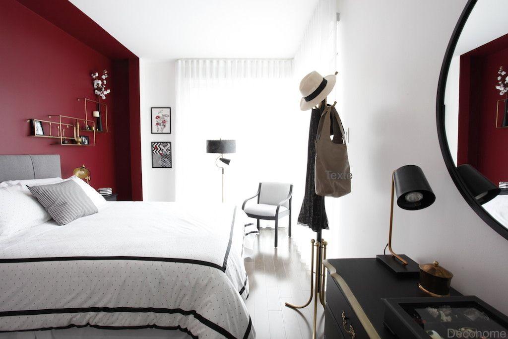 Mon Concept Rouge Et Chic Pour La Chambre De Nathalie Chambre A