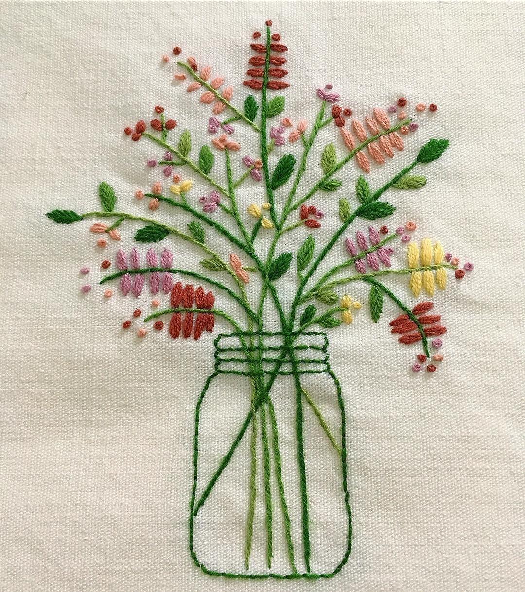 Марина Забродина bordados pinterest embroidery stitch and