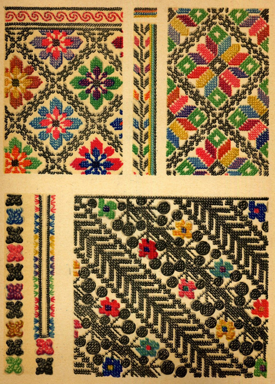 Ukrainian folk embroidery i f