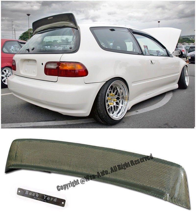 EG Honda Civic Carbon Fiber Duckbill (Spoiler) |Honda Civic