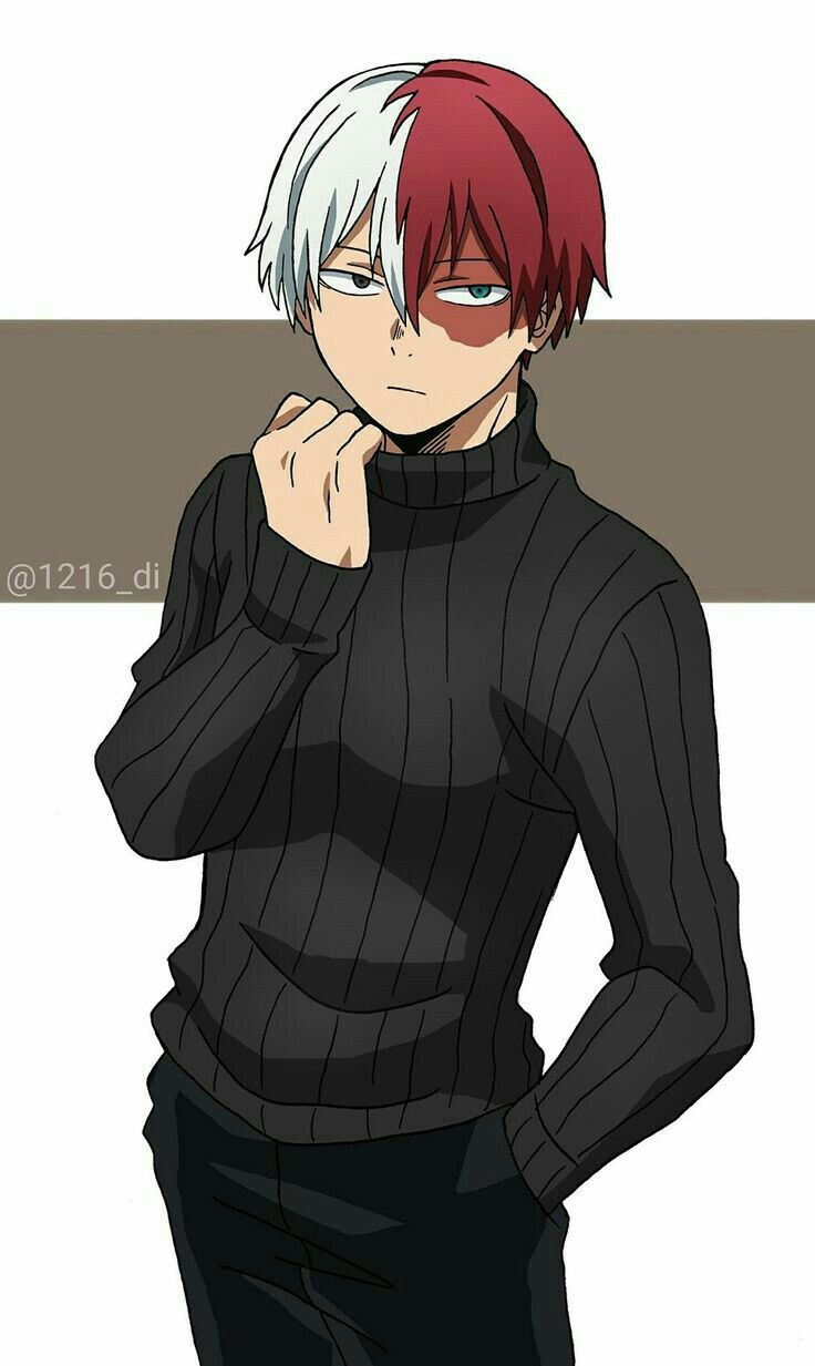 Cute Anime Turtle Wallpaper Todoroki Shoto Art Creddits To The Original Artist My