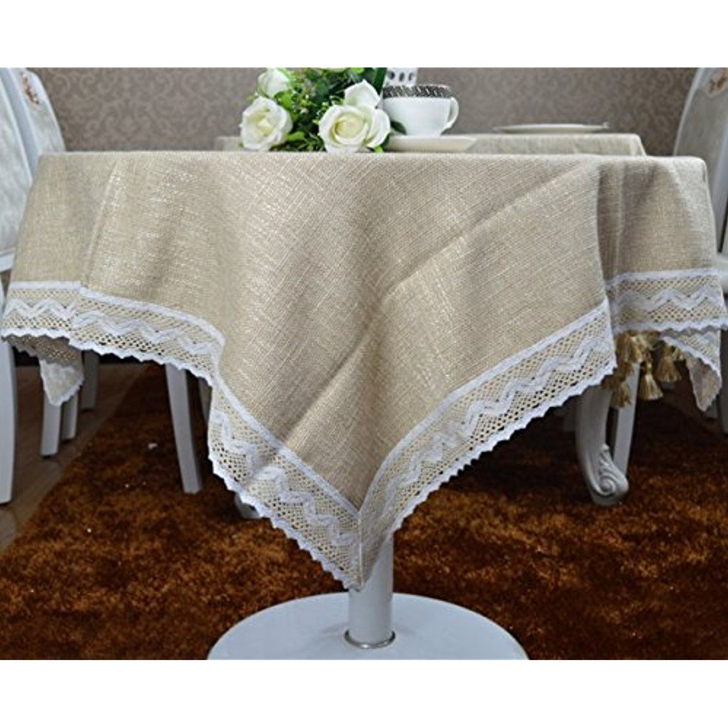 Situmi tablecloth table cover simple style tablecloth cotton dining table cloth 150ã 220cm