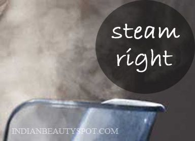 Steaming For Different Skin Types