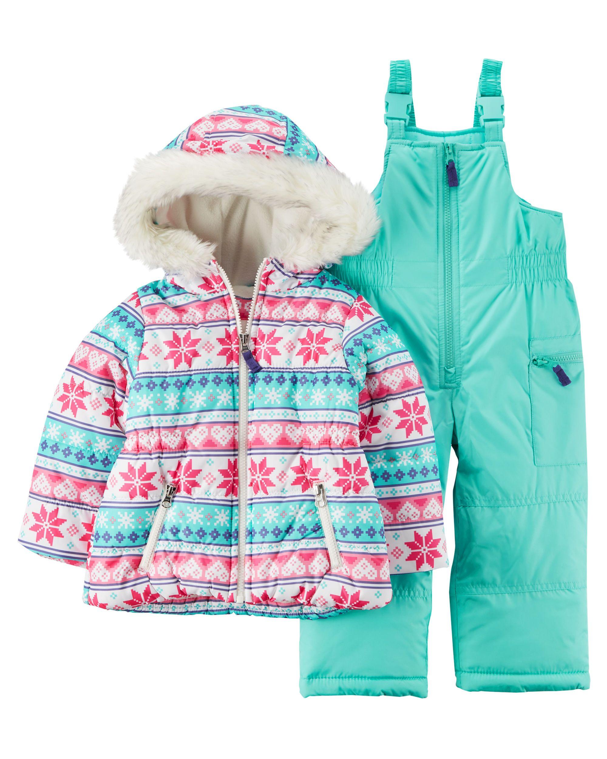 0e2a8bc61 Fair Isle Snowsuit Set
