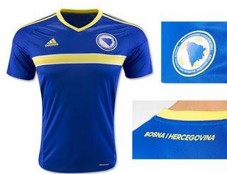 561fa6b1c Nueva Adidas camiseta seleccion Bosnia-Herzegovina eurocopa 2016 ...