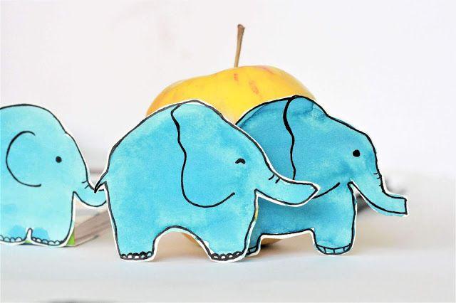 kreativ mit farben elefanten einfach malen  elefant