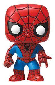 f4c499e3b30 Funko POP Movie  Marvel Universe Spiderman Bobble Head Vinyl Figure  Funko  Pop! Marvel   Amazon.co.uk  Toys   Games