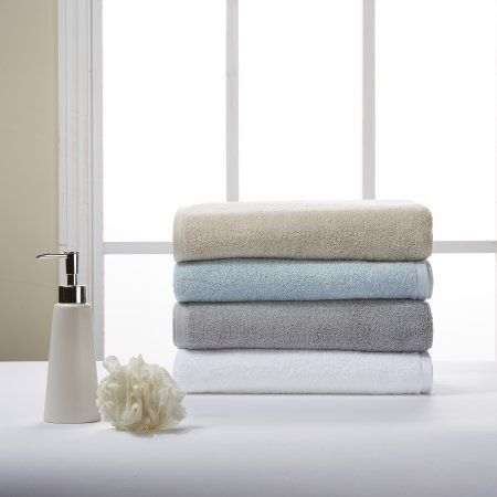Better Home And Gardens Organic Cotton Bath Towel White Cotton