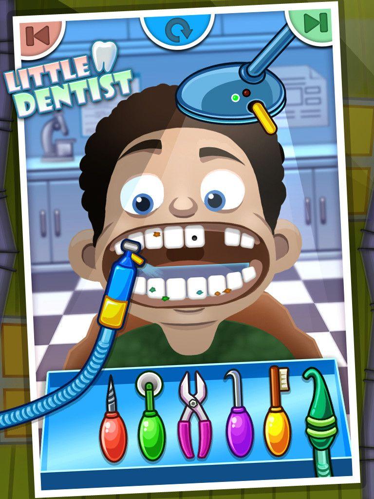 Little Dentist kids games & game for kids Pediatria