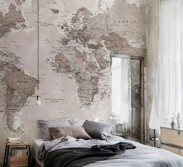 La chambre vintage...60 idées déco très créatives | INTERIOR ...
