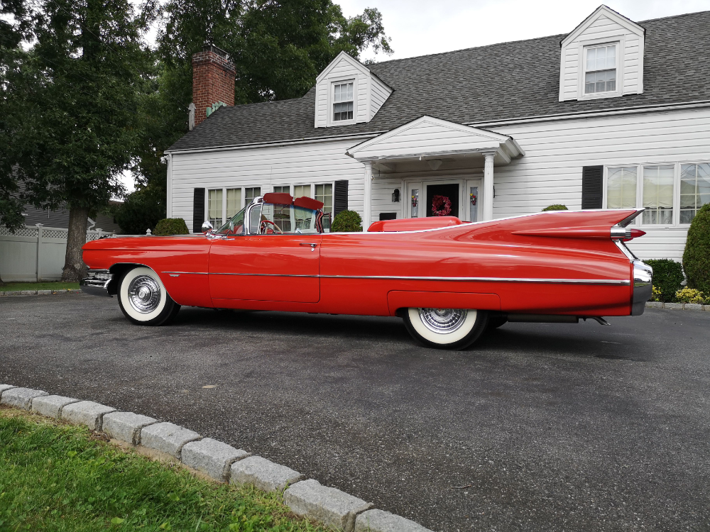 High-finned Prestige: 1959 Cadillac Series 62 Convertible  – Elysium Cruise Residence – Cruise Based Aged Care