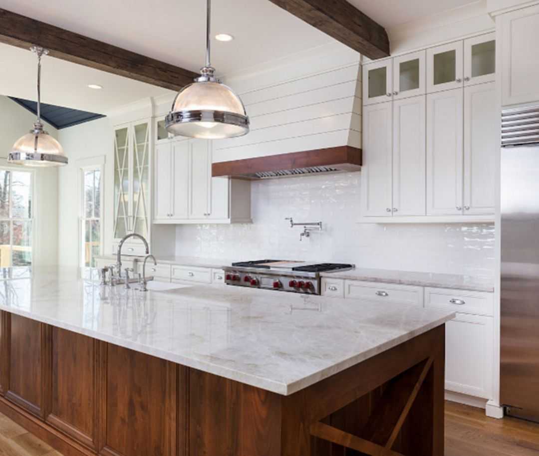 amazing farmhouse kitchen design and decorations ideas