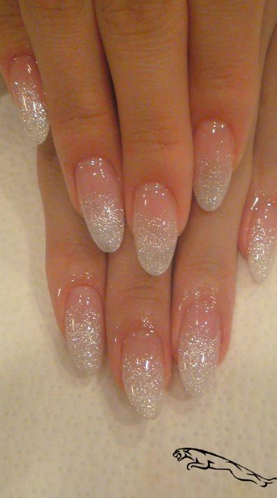 Autumn Nails Long Nail Designs Water Nailvalentines Autumn Nails Long N Herbstnagel La In 2020 Glitter Fade Nails Faded Nails Almond Acrylic Nails