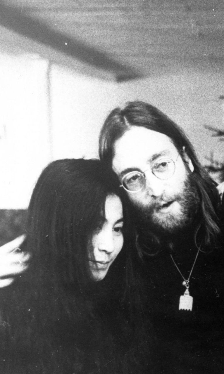 Yoko and John.