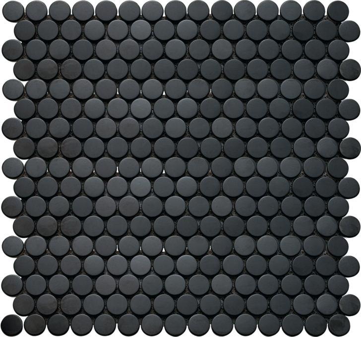 Black Penny Tile Bathroom Penny Round Tiles Penny Tile Penny Tile Floors