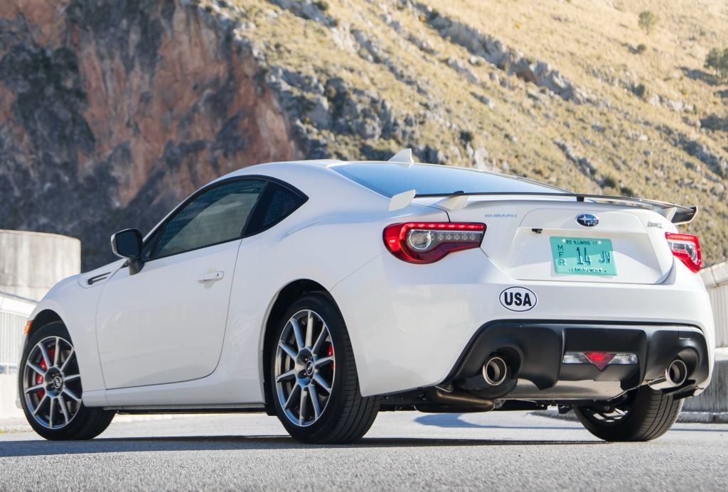2017 Subaru BRZ Performance Package North America (ZC6