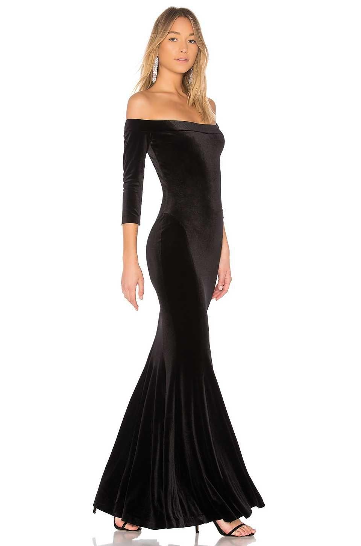 Off-Shoulder Kleid 2018 Abendkleider Lang Damenmode | Elegante ...