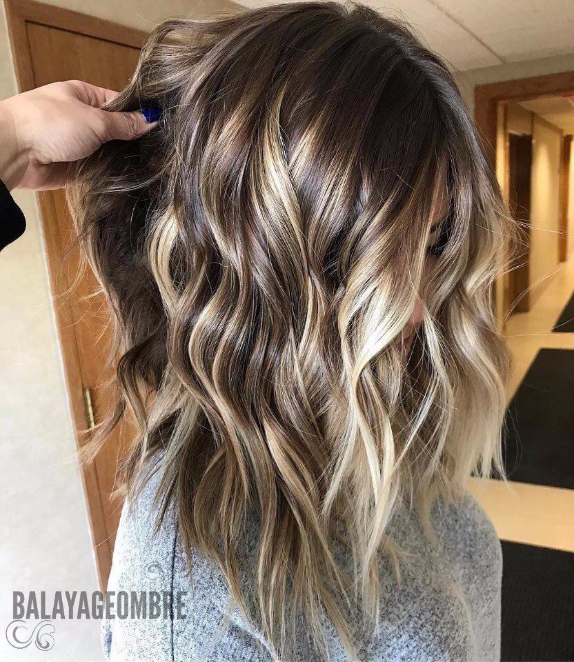 Hair Colour Brown Hair Balayage Medium Length Hair Styles Balayage Hair