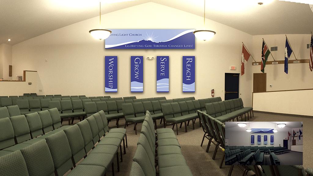 Banners For Church Sanctuary Little Light Media Living