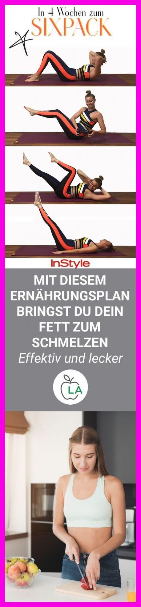 Sixpack: Diese 4 Fitnessübungen machen es möglich! #sport #fitness #wellness #sixpack  #Vorteile #Zi...