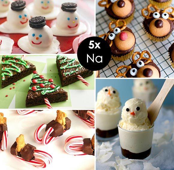 Wonderbaar Kerstrecepten voor kinderen - Van voorgerecht tot hoofdgerecht BL-75