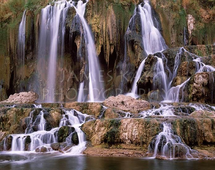Framed Prints & Photograph of Idaho Waterfalls - Fall Creek Falls - Photos by James Kay