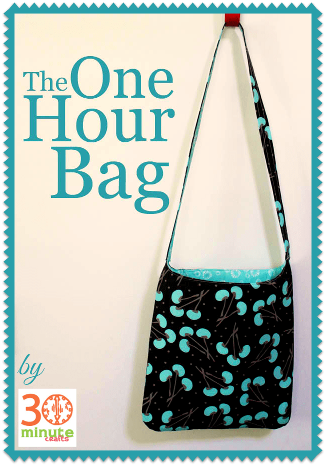 The One-Hour Bag | PURSES & POUCHES | Pinterest | Costura, Bolsos y ...