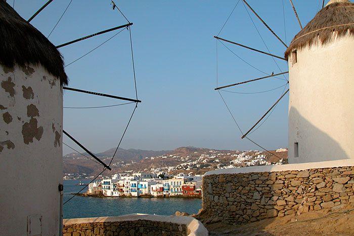 GREECE CHANNEL | Mykonos windmills, Greek Islands