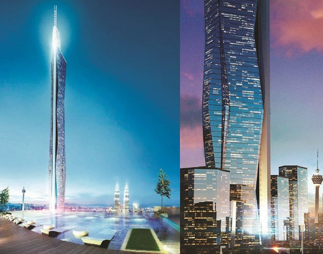Kenali Kl118 Bangunan Tertinggi Malaysia Yang Menelan Belanja Rm5 Bilion Menggantikan Klcc Kl118 Kredit Foto Theed Skyscraper Building Beautiful Buildings