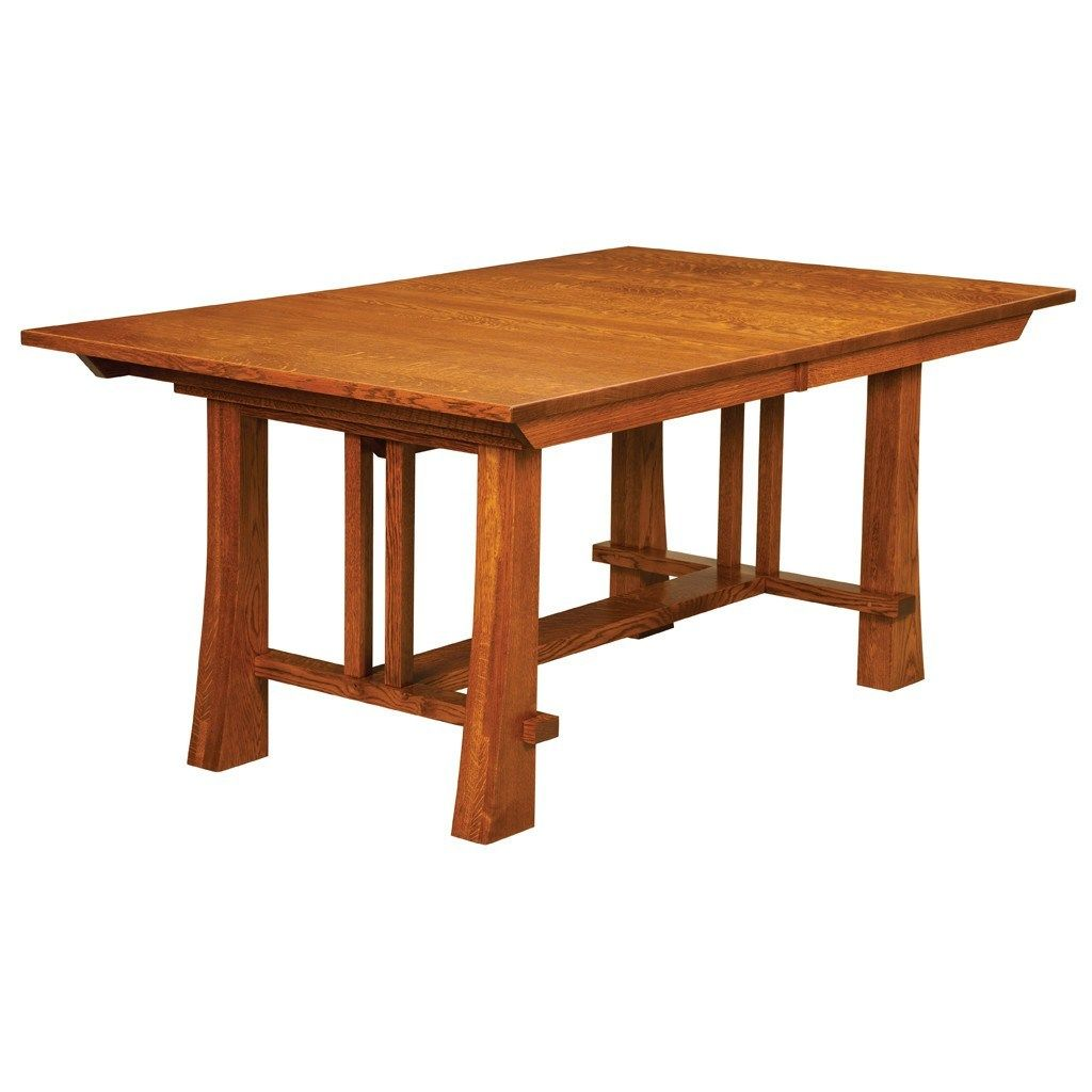 Mission Trestle Table Plans: Grant Trestle Extension Table
