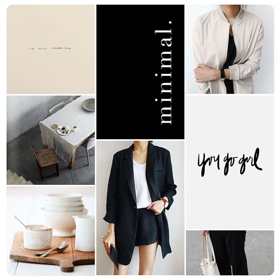 Monday mood.  Minimal. Black, white, nude, subtle structures and inspiring words. My favorite mood.