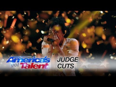 Jayna Brown: See How This Smiley Teen Singer Earns the Golden Buzzer - America's Got Talent 2016 - YouTube