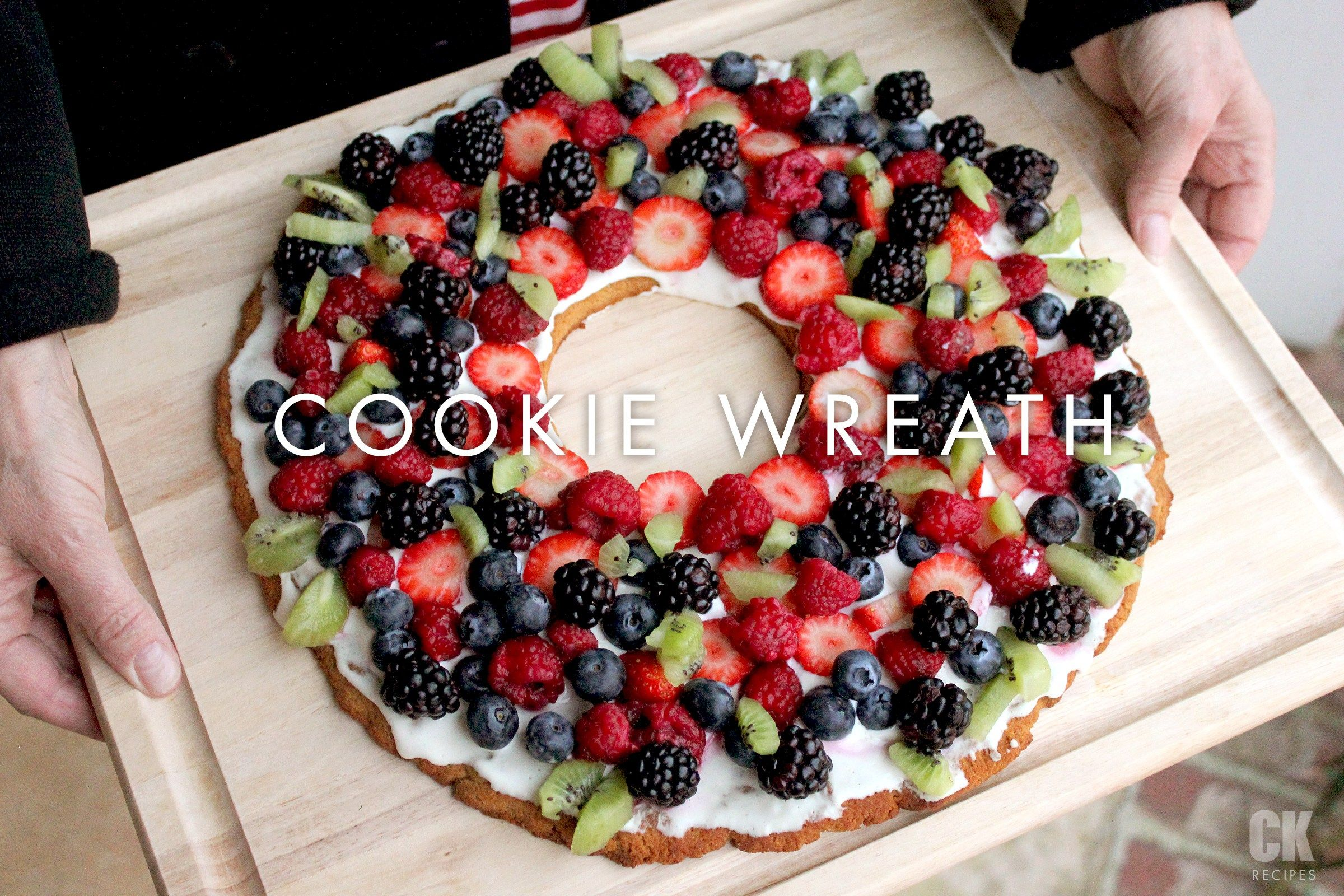 Pancake Wreath Tutorial