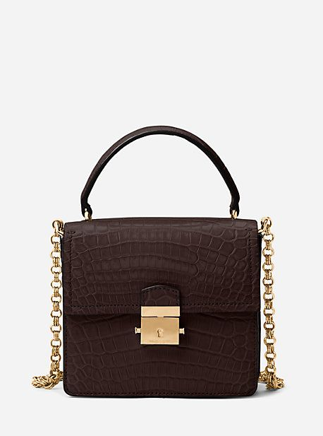 16525f66fa9c4c Mia Crocodile Shoulder Bag | Products | Bolsos, Zapatos