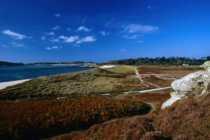 Scilly Isles BAY OF TRESCO scilly islands