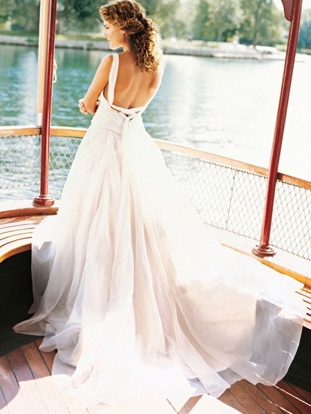 #backless #wedding dress