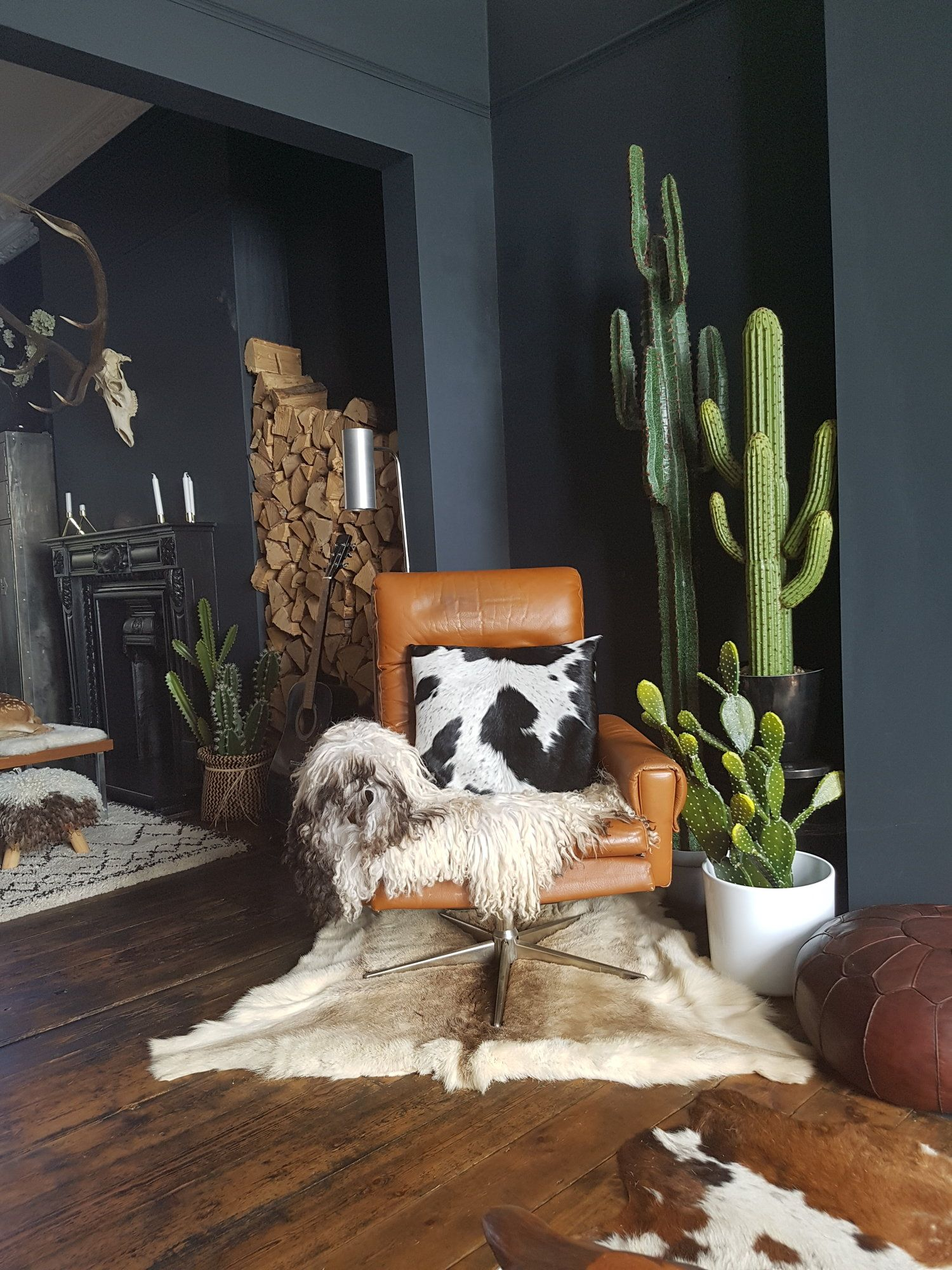 """Photo of Nicola Broughton-""""The Girl with the Green Sofa""""Blog Homebeetle and Wilde-Interiors that Blur the Boundaries between Art, Anatomy, Natural History & Design."""