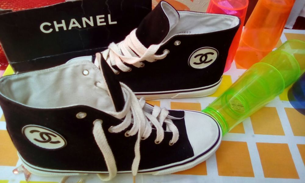 622ed51b65df trainers SHOES  COCO  TRAINERS  capricorn  toes  vintage  chanel ...