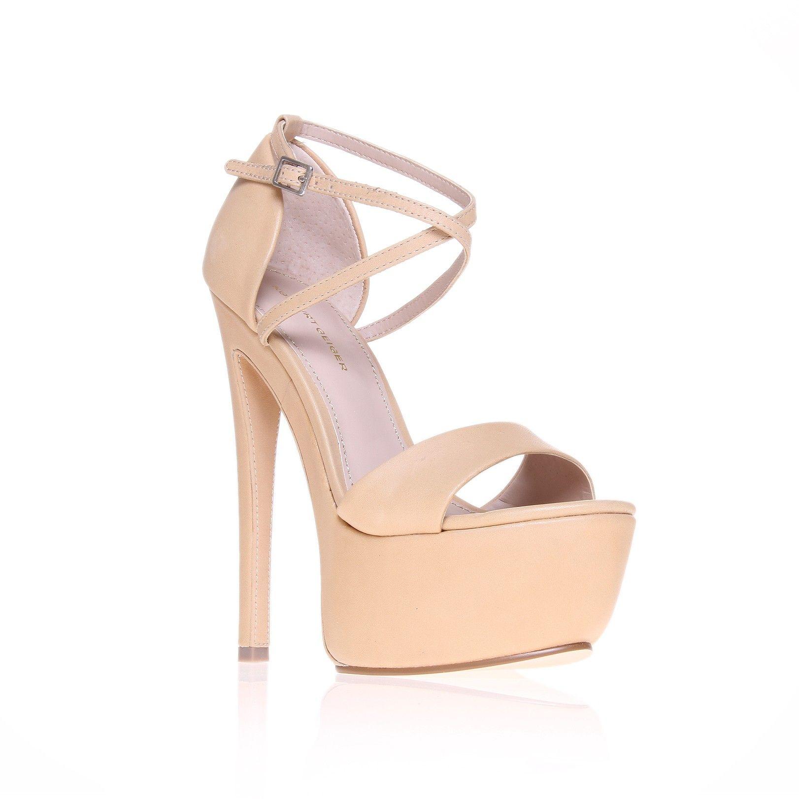 nanette, nude shoe by kg kurt geiger - women shoes platforms 6 inch
