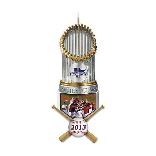 Boston Red Sox 2013 World Series Champions Ornament