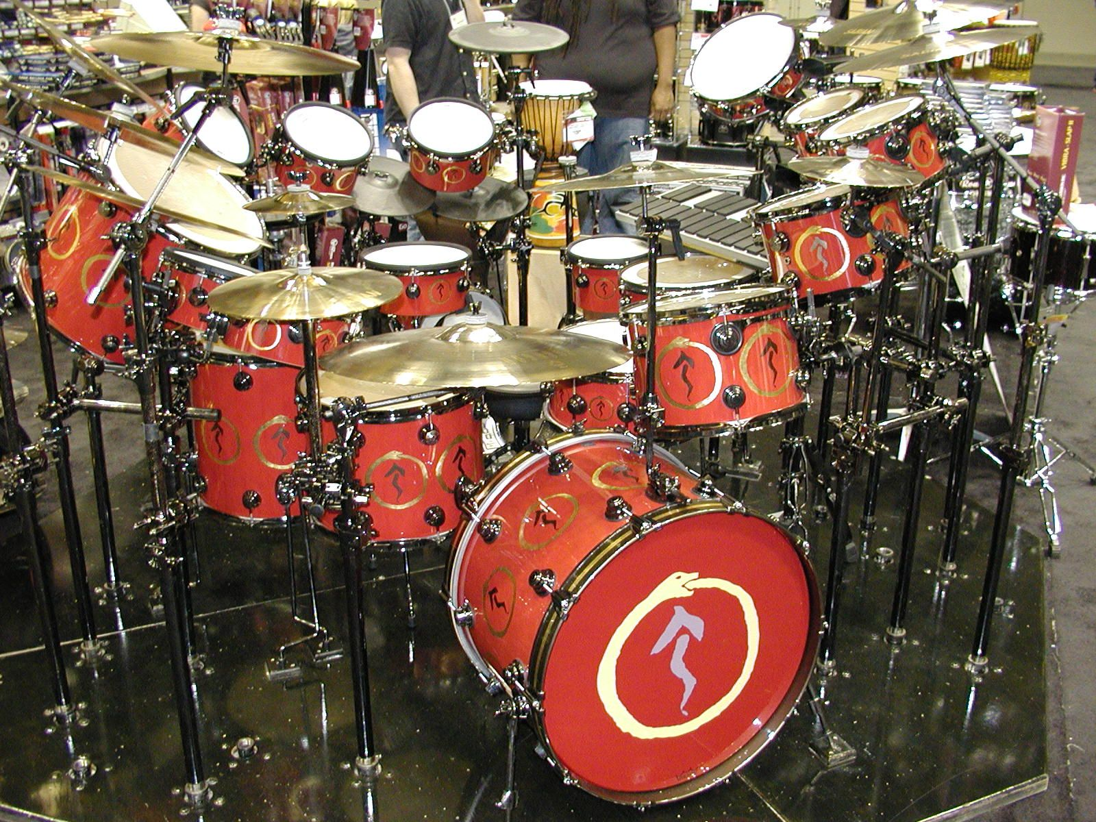 Neil Peart Drum Kit Note This Site Is Not Affiliated With Neil