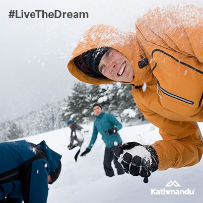 Snow fights! #‎simplepleasures #LiveTheDream