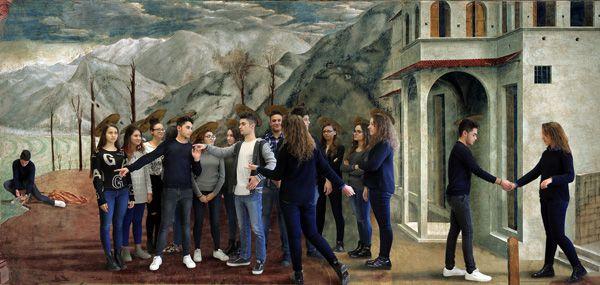 Entrando nelle opere di Masaccio...